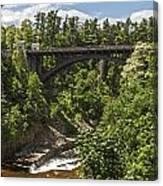 Ausable Chasm Bridge Canvas Print