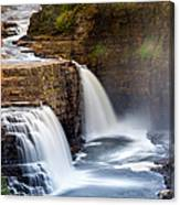 Ausable Chasm Waterfall Canvas Print