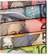 Aussie Dollars 01 Canvas Print