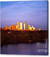 Austin At Last Light Canvas Print
