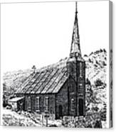 Austin Church Canvas Print