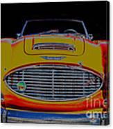 Austin Healey 100 Canvas Print