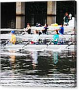 Austin Rowing Canvas Print