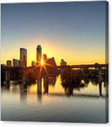 Austin Sunrise Canvas Print