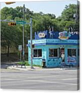 Austin Texas Congress Street Shop Canvas Print