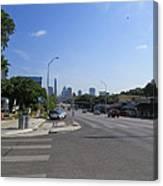 Austin Texas Congress Street View Canvas Print