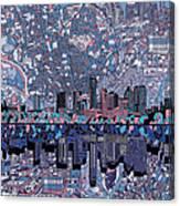 Austin Texas Skyline 3 Canvas Print