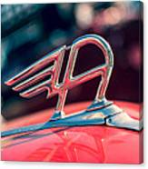 Austin Truck Classic Badge Canvas Print