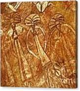 Australia Ancient Aboriginal Art 3 Canvas Print