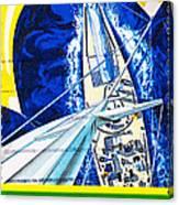 Australia II Americas Cup Yacht Sailboat  Canvas Print