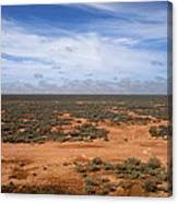 Australia Null Harbor Plain Canvas Print