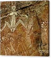 Indigenous Aboriginal Art 3 Canvas Print