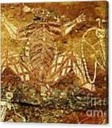 Australia Ancient Aboriginal Art 1 Canvas Print