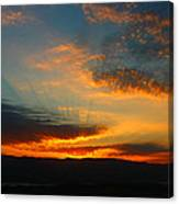 Australian Sunrise Canvas Print