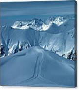Austria Mountain Ischgl Canvas Print