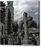 Austrian Graveyard Canvas Print