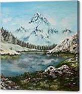 Austrian Lake Canvas Print