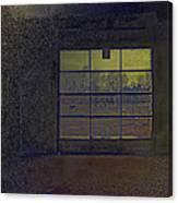 Auto Garage Canvas Print