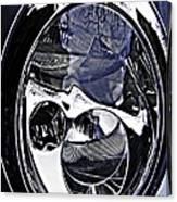 Auto Headlight 111 Canvas Print