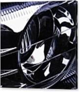 Auto Headlight 155 Canvas Print