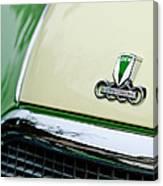 Auto Union Dkw Hood Emblem Canvas Print