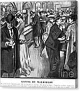 Automat 1903 Canvas Print