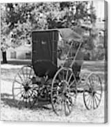 Automobile Duryea, 1893-94 Canvas Print