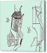 Automobile Patent 1907 Canvas Print