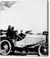 Automobile Racing, 1905 Canvas Print