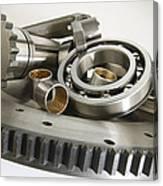 Automotive Clutch Parts Canvas Print
