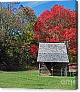 Autum For A Mountain Home Canvas Print