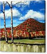 Autum Hill Canvas Print