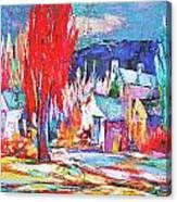Autumn Ablaze Canvas Print