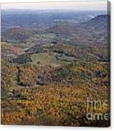 Autumn Across The Shenandoah Canvas Print