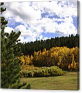Autumn Along 285 Canvas Print