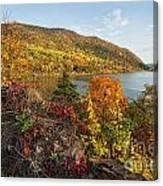 Autumn Along The Hudson Canvas Print