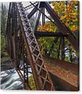 Autumn And Iron Canvas Print