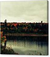 Autumn At Deer Lake Canvas Print
