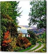 Autumn At French River Canvas Print