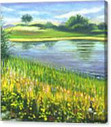 Autumn At Gateway National Park Canvas Print