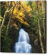 Autumn At Moss Glenn Falls Canvas Print