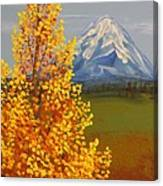 Autumn At Mt Shasta Canvas Print