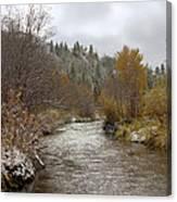Autumn At Prickly Pear Creek Canvas Print