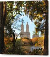 Autumn At San Remo Canvas Print