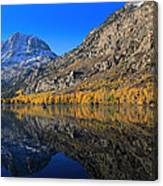 Autumn At Silver Lake Canvas Print
