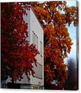 Autumn At The Grants Pass Courthouse Canvas Print