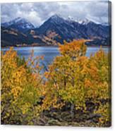 Autumn At Twin Lakes Canvas Print