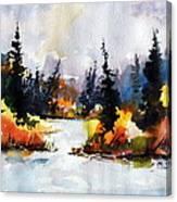 Autumn Attitude Canvas Print