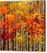 Autumn Banners Canvas Print
