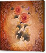Autumn Blooming Mum Canvas Print